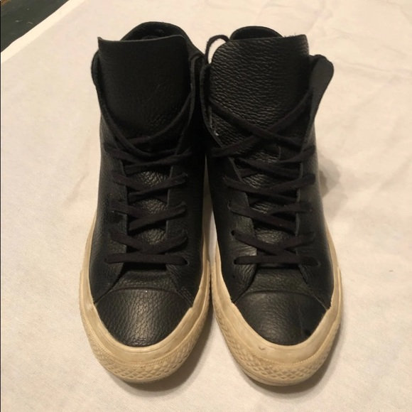 Converse Prime High Top black sneakers